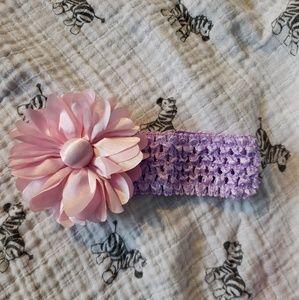Other - Hand made crochet flower headband.